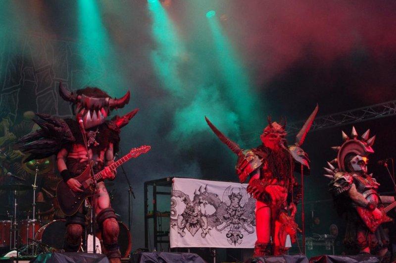 Satirical metal band GWAR performs in Sweden. (CC/Staffan Vilcans)
