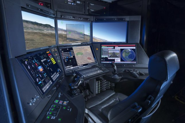 General Atomics' Block 50 Ground Control Station is expected to lower workload for both pilots and operaters, as well as enhance combat efficacy, for the U.S. Air Force's drone fleet. Photo courtesy of General Atomics