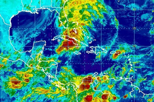 Tropical Storm Philippe was the 16th named storm of the Atlantic hurricane season. Image courtesy NOAA