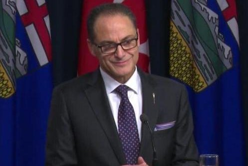 Alberta Finance Minister Joe Ceci says the oil-rich economy is recovering after last year's slump, though it's not yet widespread. Photo by the provincial government of Alberta