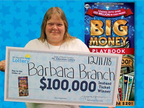 Woman wins $100,000 thanks to preparing for bad weather
