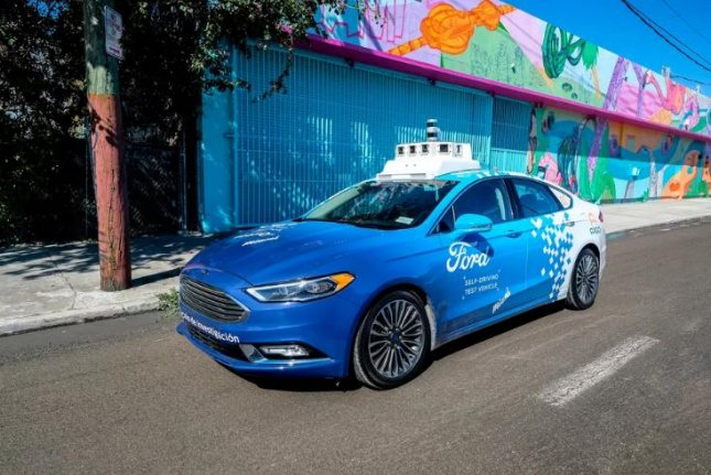 The Ford Motor Co. announced a delay on Tuesday, to 2022, of its self-driving taxi service, citing a first-quarter revenue loss caused byu the coronavirus pandemic. Photo courtesy of Ford Motor Co.