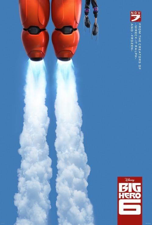 Poster for 'Big Hero 6.' (Disney/Marvel)