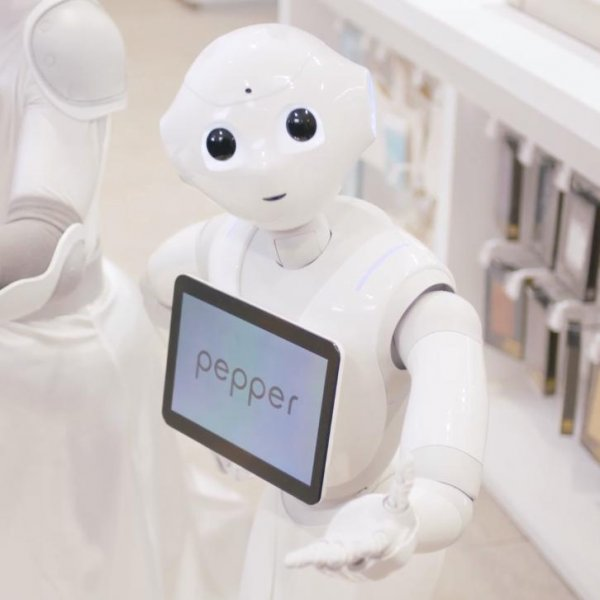 Pepper the robot sold out in 60 seconds on June 20. It is only being sold in Japan. Photo by Softbank/Facebook