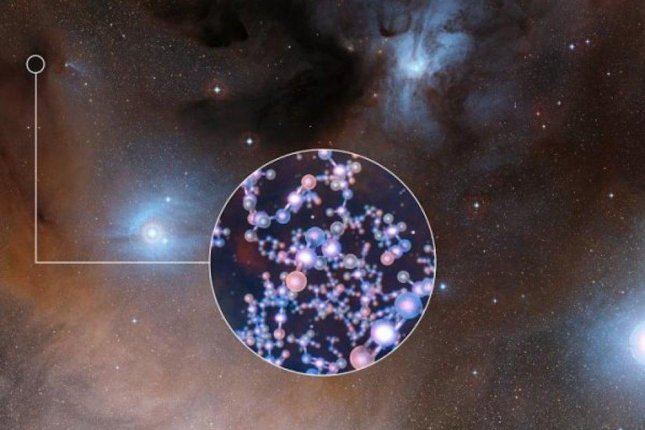 Molecule essential to life found near new stars
