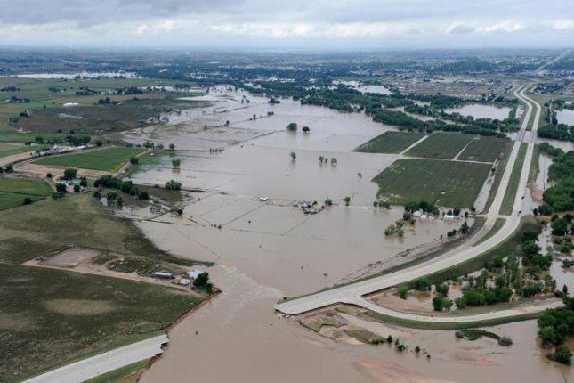 Heavy rain brought severe floods to several Colorado communities in 2013. Photo by the U.S. Environmental Protection Agency