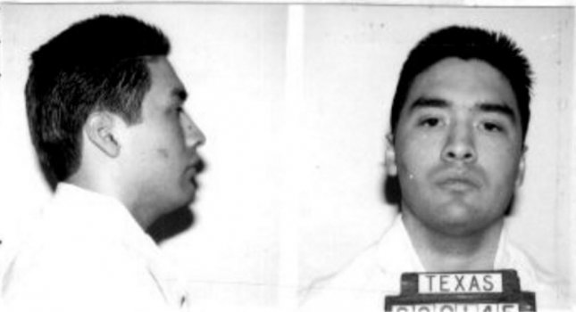 Rolando Ruiz, Jr., 44, pictured here in 1995, was put to death Tuesday night at the maximum security prison in Huntsville, Texas, for the 1992 contract murder of 29-year-old Theresa Rodriguez. Image courtesy Texas Department of Criminal Justice