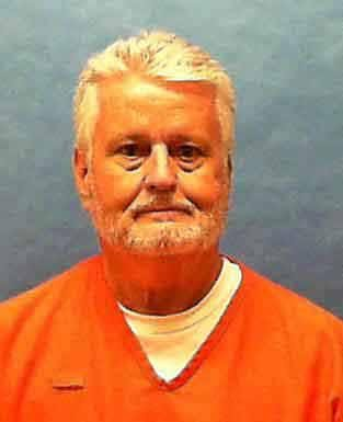 Bobby Joe Long, 65, was declared dead at 6:55 p.m. Thursday. File Photo courtesy of the Florida Department of Corrections