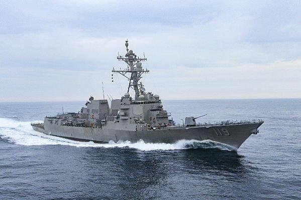 The destroyer DDG 119, the future USS Delbert D. Black, successfully completed acceptance trials on March 12. Photo courtesy of U.S. Navy