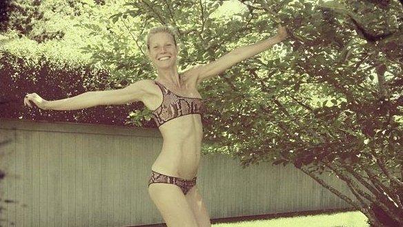 Gwyneth Paltrow. (Stella McCartney/Instagram)