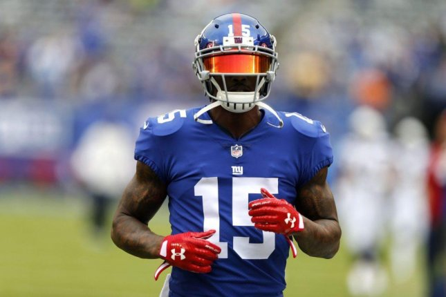 New York Giants wide receiver Brandon Marshall, who underwent season-ending surgery after injuring his ankle last week, said he has no plans to retire. Photo courtesy of New York Giants/Twitter