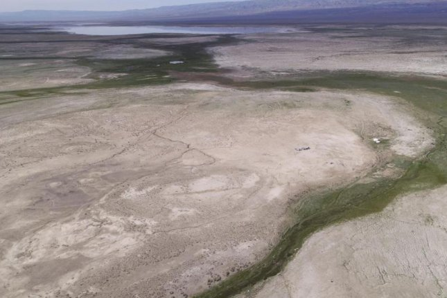 Ancient lakes once made migration routes across northern and central Asia possible, regions that for much of prehistory were blocked by deserts and glaciers. Photo by Nils Vanwezer