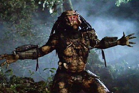One of the titular Predators in the 1987 movie 'Predator.' 20th Century Fox