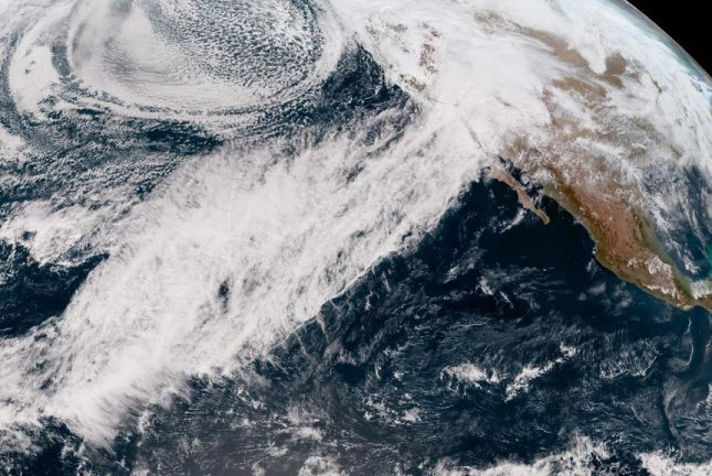 In the winter, atmospheric rivers regularly deliver large amounts of precipitation to California. Photo courtesy of NOAA