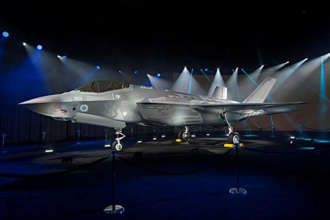 Lockheed Martin's first F-35A for Israel at its rollout ceremony. Photo courtesy Lockheed Martin