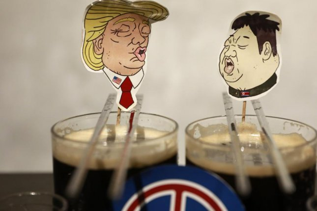 A South Korean group wants to distribute North Korea's Taedonggang beer (not pictured) but has yet to receive government approval. File Photo by How Hwee Young/EPA-EFE