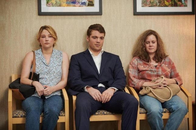 Haley Bennett, Gabriel Basso and Amy Adams, from left to right, star in Hillbilly Elegy, a new film based on the J.D. Vance memoir. Photo courtesy of Netflix