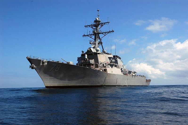 USS Porter arrives in Ukraine for NATO peace mission