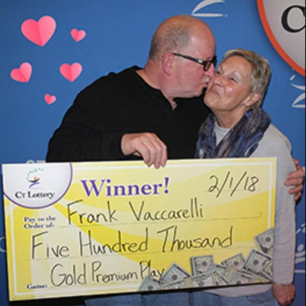 Connecticut couple celebrate 45th anniversary with lottery jackpot