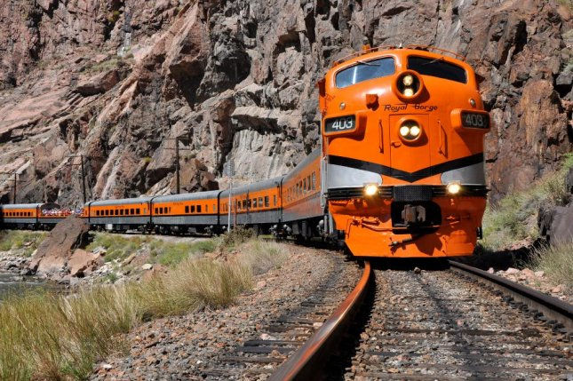 The conductor of the Royal Gorge Scenic Railroad train in Canon City, Colorado fell to her death while the train was en route to the station Saturday night The incident is under investigation. Photo from Colorado Scenic Rails