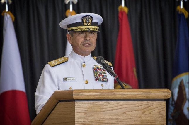 Head of the U.S. Pacific Command Adm. Harry Harris told troops on Friday to stand ready for North Korea provocations. Photo courtesy of U.S. Air Force