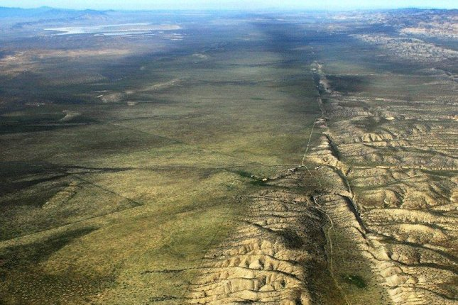 New research could increase warning time for earthquakes with a magnitude of 7 or greater, like the massive of earthquakes previously produced by the San Andreas fault system. Photo by John Wiley/Wikimedia Commons