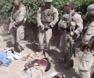 Video claims Marines urinated on corpses