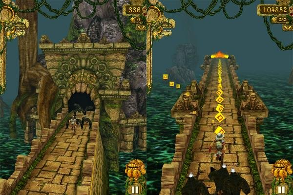 Temple Run is the second game franchise after Angry Birds to reach one billion lifetime downloads. (CC: Siddartha Thota)