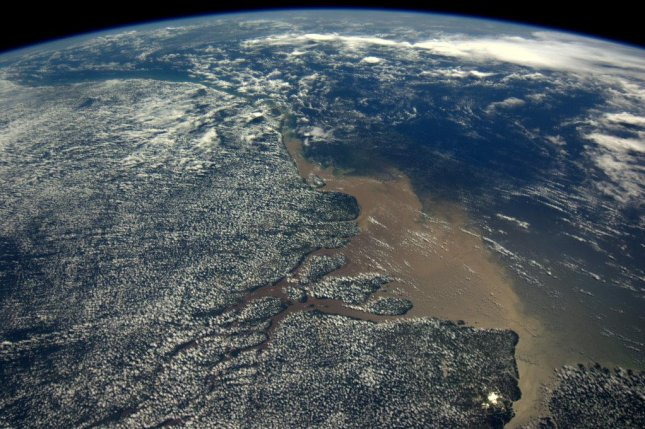 The Amazon basin, as seen from space, is at least 9 million years old, new research shows. Photo by ESA