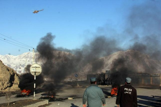 The first major explosion in nearly a month struck Kabul, Afghanistan, Friday. File Photo by UPI