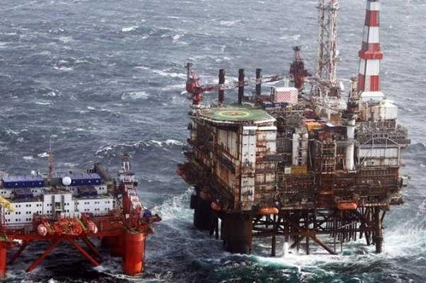 Oil and gas industry group concerned by steady declines in spending in the North Sea. Photo courtesy of BP.