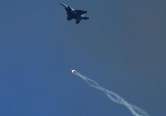 The National Nuclear Security Administration has authorized the production engineering phase for its B61-12 warhead life extension program, the administration announced Monday. A non-nuclear version of the bomb is shown being dropped during a 2015 test. Photo courtesy National Nuclear Safety Administration