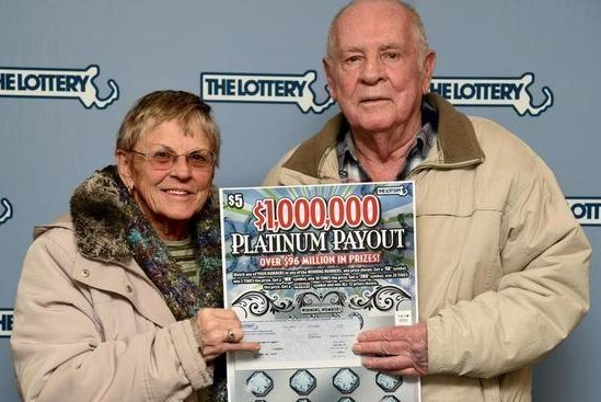 Look: Lotto winner's wife won same amount from sweepstakes - UPI com