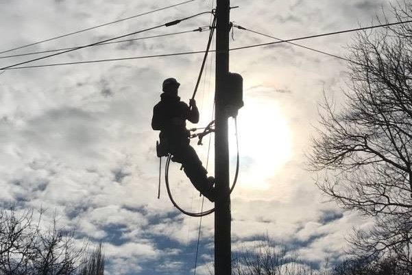 Displaced coal miners in Colorado's North Fork Valley are finding new careers as fiber optic installers. Photo courtesy of Lightworks Fiber and Consulting