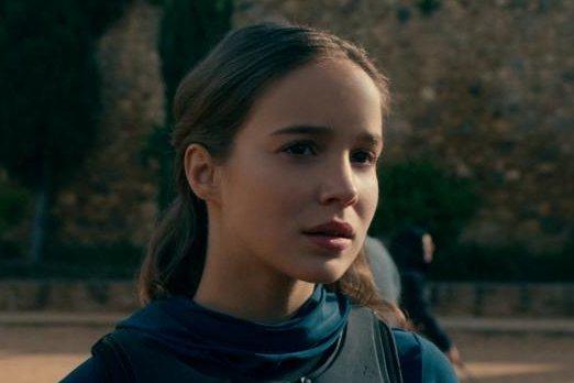 Alba Baptista on Netflix's Warrior Nun. The series has been renewed for a second season. Photo courtesy of Netflix