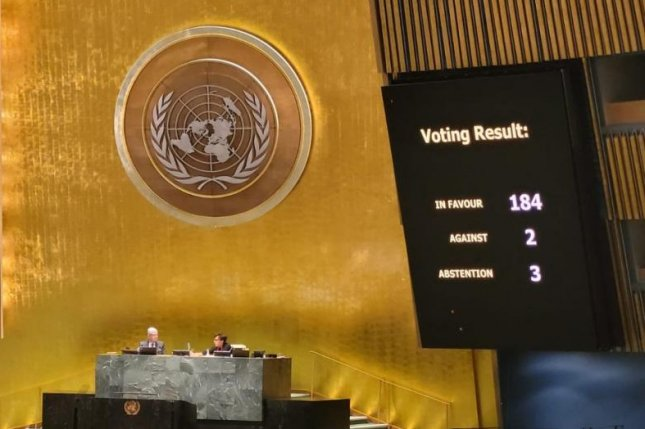 The United Nations rebuked the United States on Wednesday for maintaining its economic trade embargo on Cuba. Photo courtesy ofCuban Foreign Minister Bruno Rodriguez Parrilla/Twitter