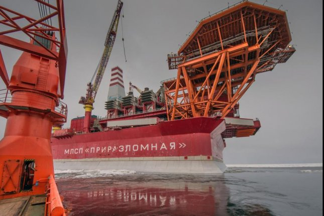 Oil production from a field above the Arctic Circle more than doubled last year, Russian energy company Gazprom Neft said. Photo courtesy of Gazprom Neft