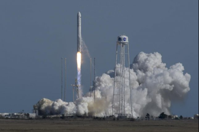 The Antares rocket blasted-off from Virginia's Eastern Shore at 4:46 p.m. Photo courtesy of NASA