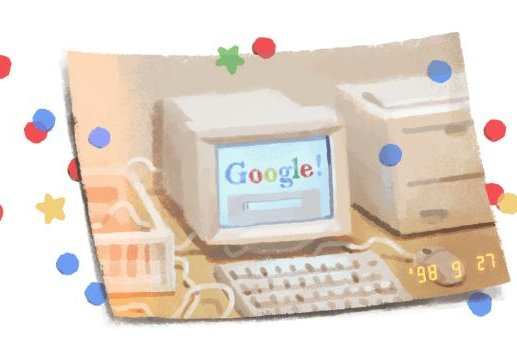 Google has turned 21 years old with the company celebrating by releasing a new Doodle. Image courtesy Google