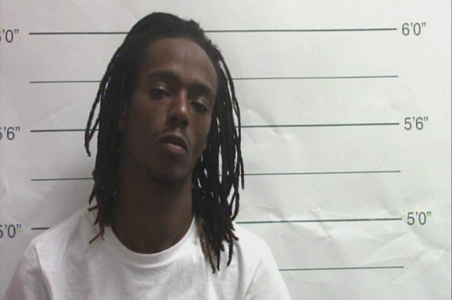 John Shallerhorn was booked Saturday on charges of first-degree murder of policeman and armed robbery. Photo courtesy of Orleans Parish Sheriff's Office