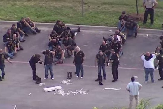 Officers' actions justified during Texas biker gang fight