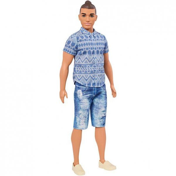 Look Mattel Releases Ken Doll With Man Bun Hairstyle
