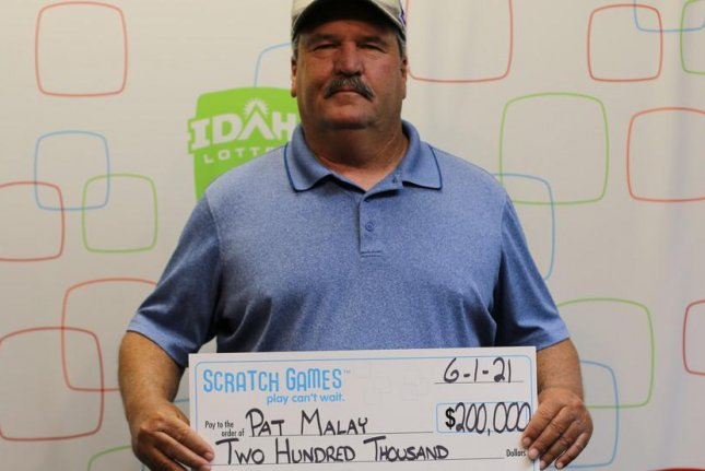 Idaho man wins his second lottery jackpot in seven years