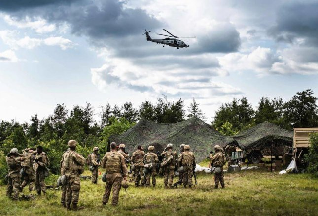 Exercise Northern Strike 21.2, bringing over 5,000 active duty troops and reservists together in northern Michigan, begins this week. Photo courtesy of U.S. Air National Guard