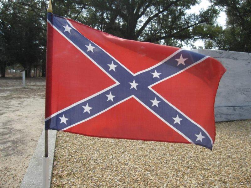 A Confederate flag (CC/Edward Stojakovic)