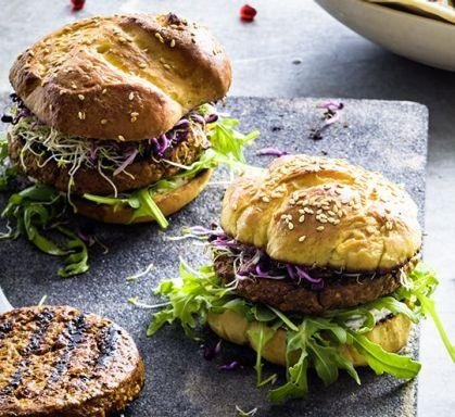 Swiss supermarket chain Coop announced it will begin selling beef-substitute burgers containing mealworms as their source of protein. Photo courtesy of Coop