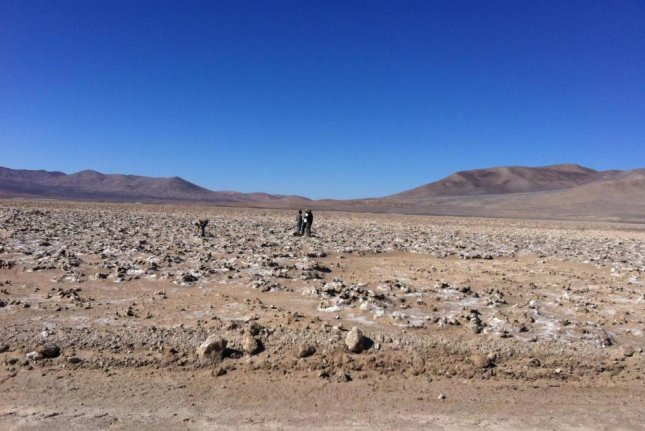 South America's Atacama Desert is the driest place on Earth, but a few microbe species have found a way to survive there. Photo by Dirk Schulze-Makuch/WSU