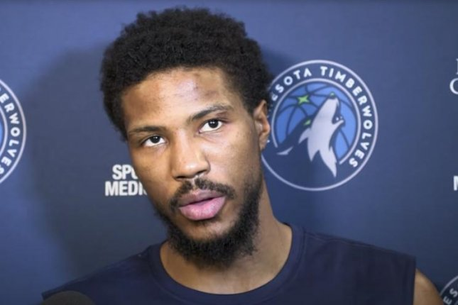 Minnesota Timberwolves guard Malik Beasley will start a 12-game suspension when his team battles the Washington Wizards on Saturday in Washington, D.C. Screenshot from Minnesota Timberwolves/YouTube