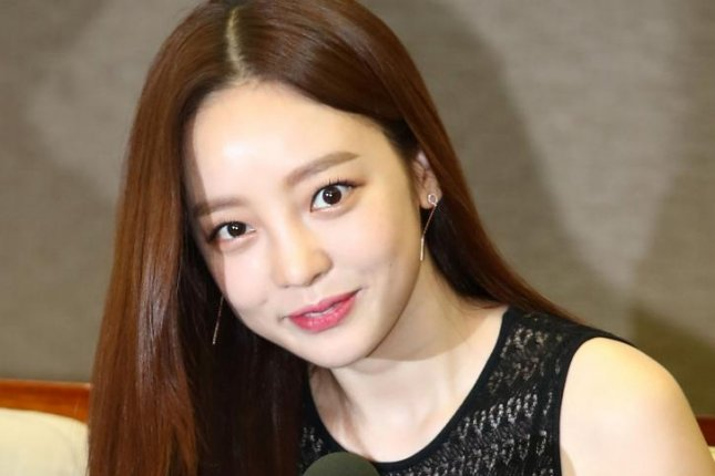 Singer Goo Ha-ra attends an event at the Press Center in Seoul on July 24 to promote the 6th Animal Film Festival in Suncheon Bay. Photo by Yonhap