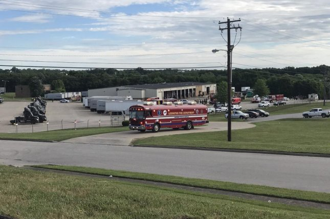 Two people were injured in an explosion Wednesday at a UPS facility in Lexington, Ky., fire officials said. Photo courtesy of Lexington Police Department/ ...